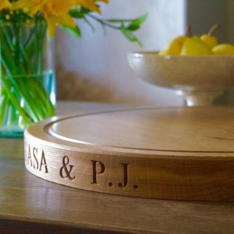 Engraved Cake Board