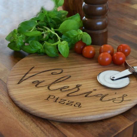 Name Pizza Board Serving Paddle