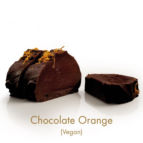 Chocolate Orange Vegan Fudge
