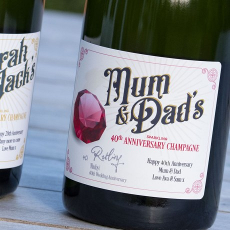 Wedding Anniversary Champagne