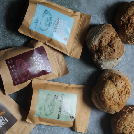 5 Gluten Free Artisan Sourdough Bread Mixes - Taster Pack