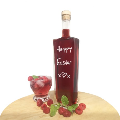 Raspberry Gin Liqueur (Personalisation & Choice of Bottle Shape)