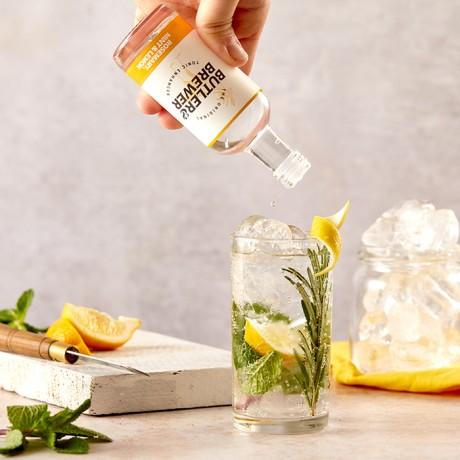 Butler & Brewer Rosemary, Mint and Lemon Tonic Enhancer Serve