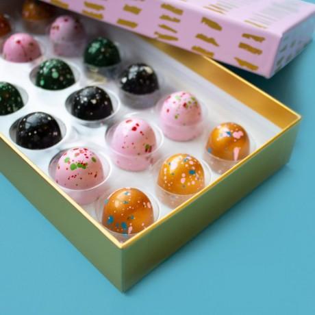 Love Cocoa Chocolate Truffle BonBons 18 Pieces