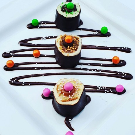 luxurious dessert with a difference!
