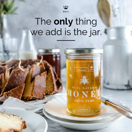 Pure Raw Spanish Orange Blossom Honey