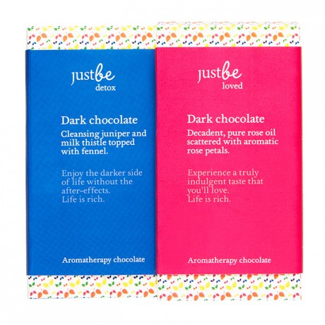 Dark Aromatherapy Chocolate Bar Collection (2 bars)