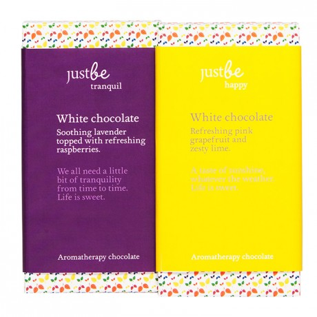 White Aromatherapy Chocolate Collection (2 bars)
