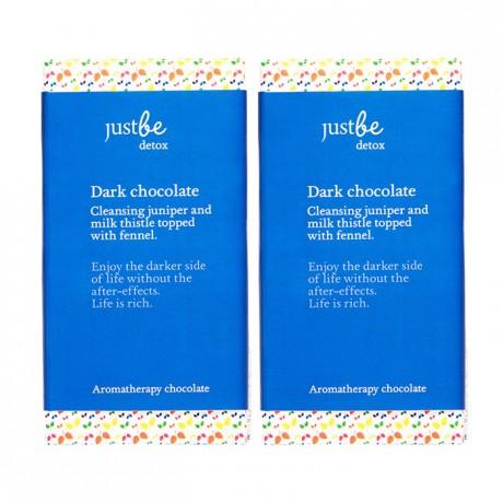 Detox Aromatherapy 70% Dark Chocolate Bars (2 pack)