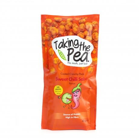 Sweet Chilli Salsa Crunchy Pea Snacks - 12 pack