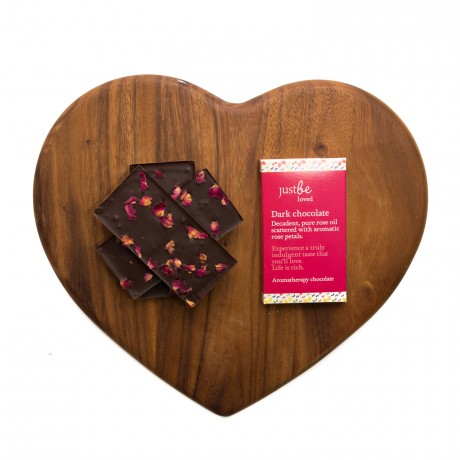 Loved Aromatherapy Dark Chocolate Bars (2 pack)