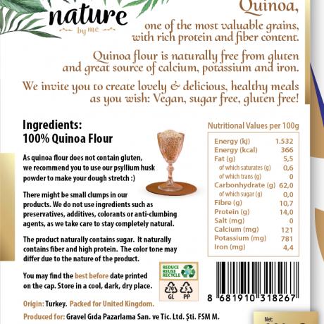Quinoa Flour 330g Gluten Free