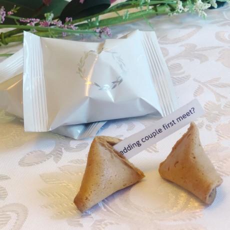 Wedding Icebreaker Fortune Cookies