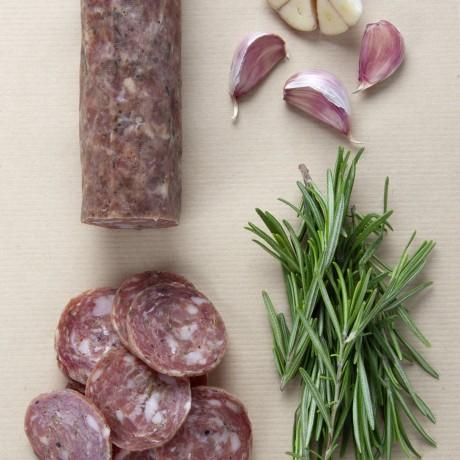 Whole Rosemary & Garlic Salami