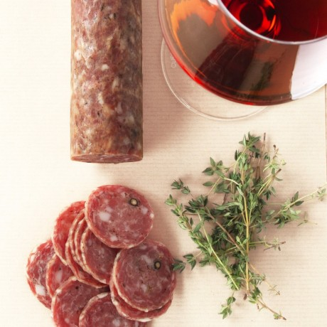 Whole Red Wine & Thyme Salami