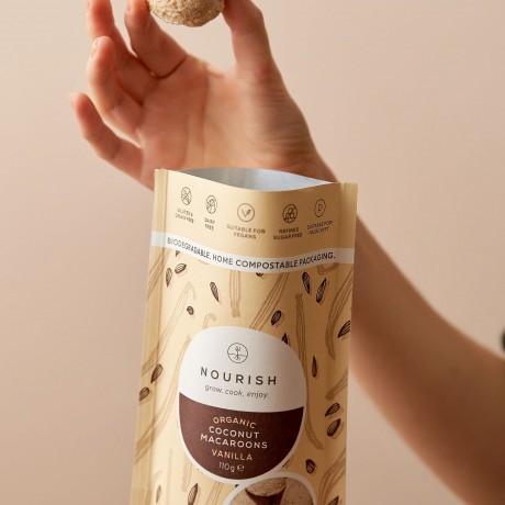 Organic Vanilla Macaroons