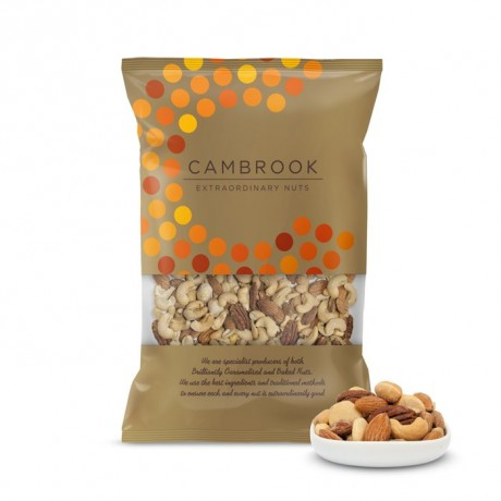 Baked & Salted Mix Of Nuts - Mix 2 by Cambrook