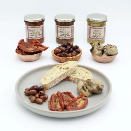 Vegetarian Italian Antipasti Selection