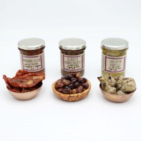 Vegetarian Italian Antipasti Jars