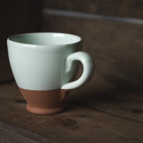 Mint green mug
