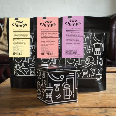 Lighter Roasted Coffee Trio Set
