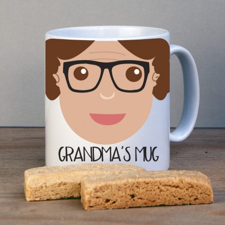 Personalised Grandma Gift Mug