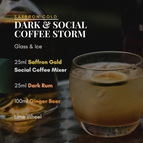 Saffron Coffee Cocktail Mixer