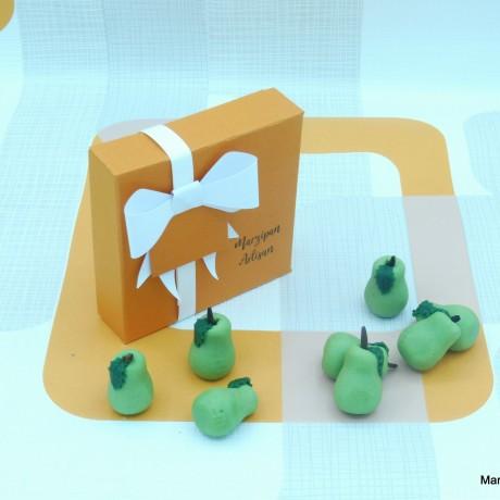 Marzipan Green Pears