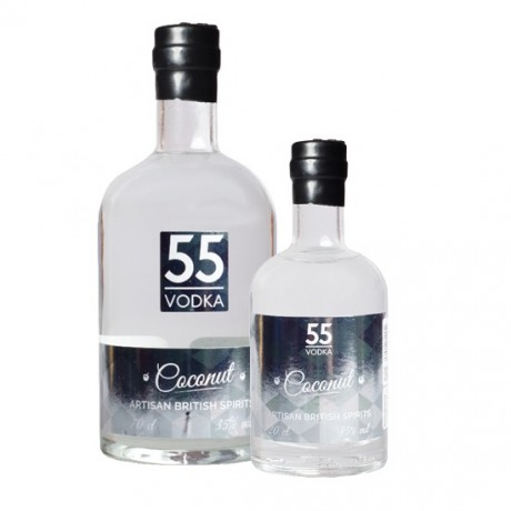 70cl & 20cl Coconut Vodka