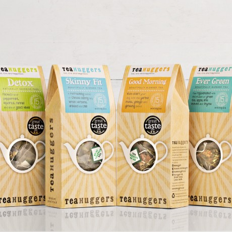 Health Kick Tea Gift Box - 4 boxes of tea