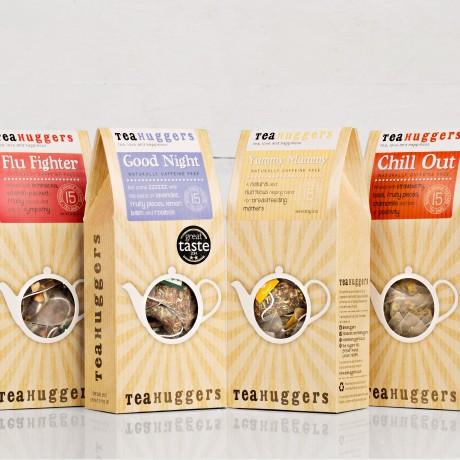 Tea Huggers New Mum Tea Gift Box - 4 boxes of tea