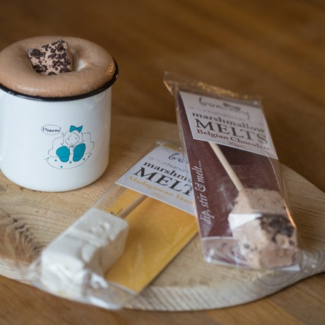 marshmallow mug and dipper gift set