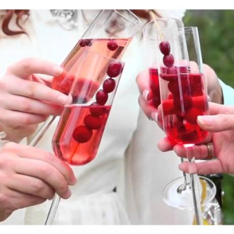 Cranberry Bellini