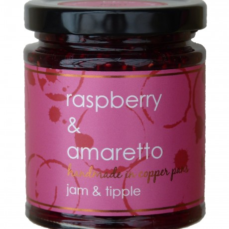 raspberry & amaretto jam