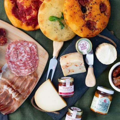 The Italian Aperitivo - Cheese & Charcuterie Box