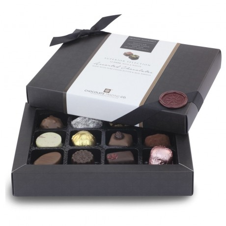 Assorted Chocolate Box (open)