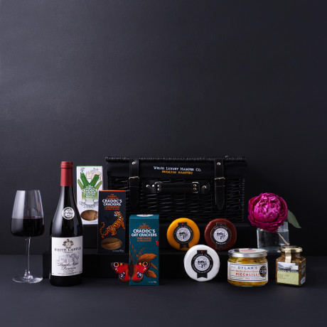 Luxury Wine and Cheese Wicker