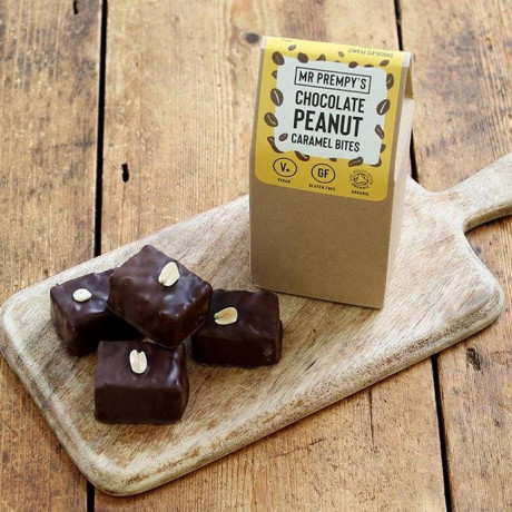 16 X CHOCOLATE PEANUT CARAMEL BITES