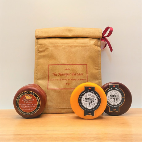 Cheese with The Hamper Bazaar Cool Bag