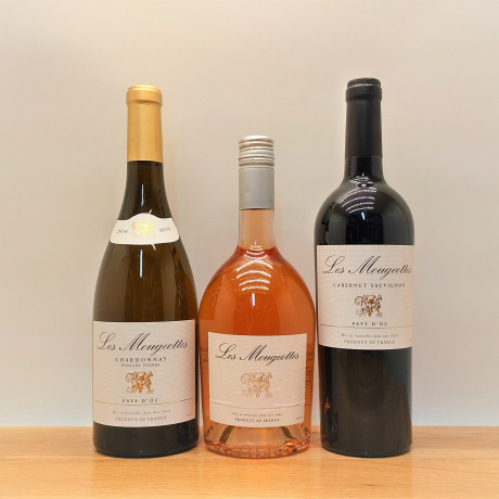 Three French Wines to choose from