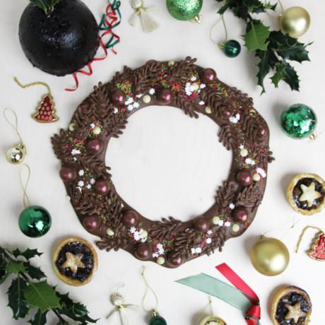 Chocolate Wreath making kit