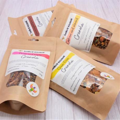 Sunbird Kitchen Granola Taster Selection