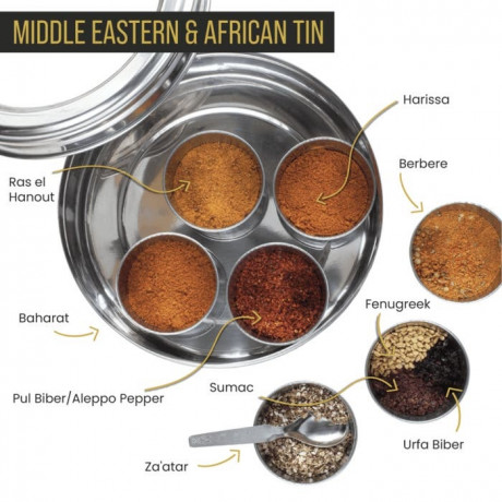 African Spice Tin