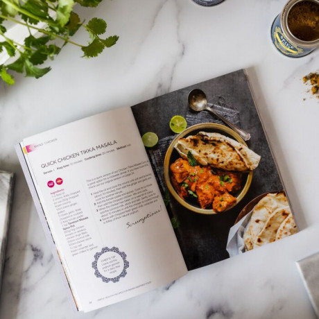Spice Pots Indian Cookbook