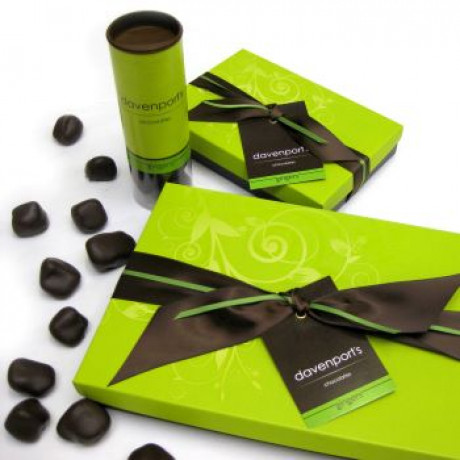 Dark Chocolate Vegan Gingers tube