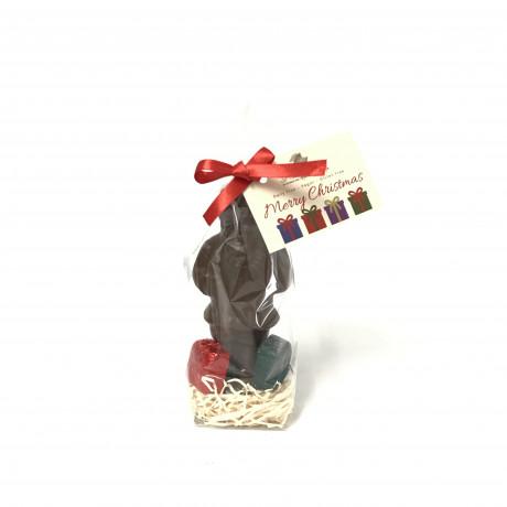 Festive Dairy Free Milk Chocolate Santa & Presents