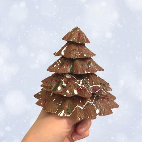 Our chunky Chocolate Christmas Tree makes a wonderful festive gift