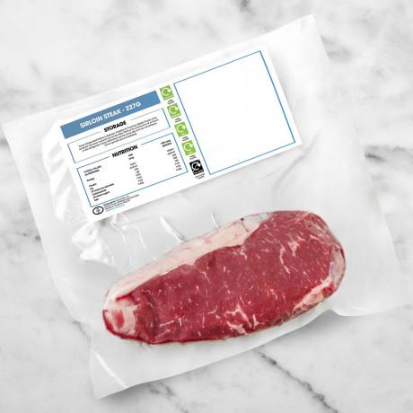 Pasture Raised Sirloin Steak 227g