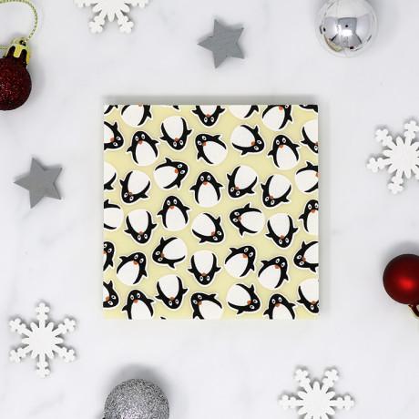 Penguin White Chocolate Bar