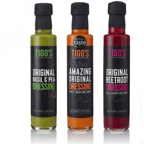 Tigg's Dressings Collection 3 Pack